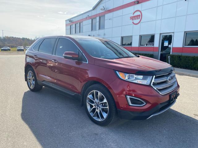 2017 Ford Edge Titanium with Remote start