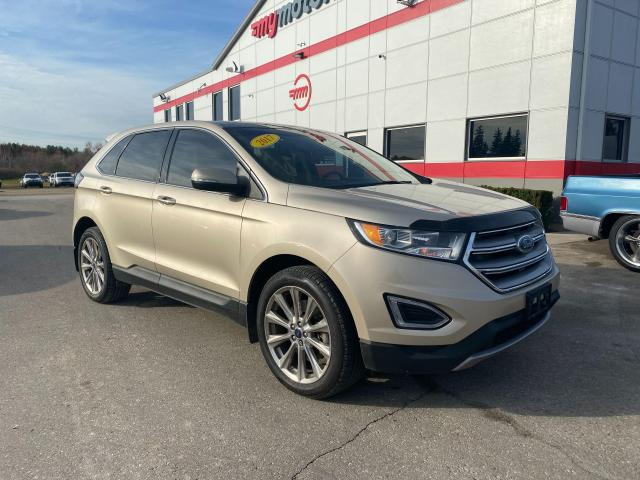 2017 Ford Edge Titanium with Heated & Cooled seats