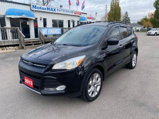 Used 2013 Ford Escape SE-4WD-NAVI-ACCIDENT FREE for sale in Stoney Creek, ON