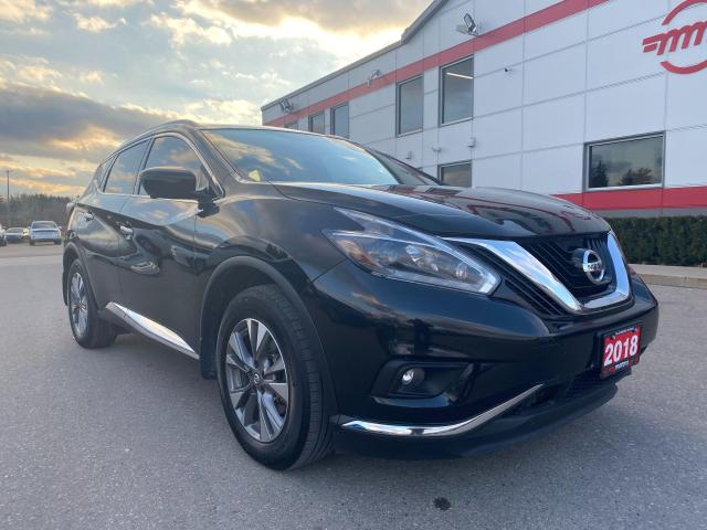 2018 Nissan Murano SL AWD WITH NAVIGATION