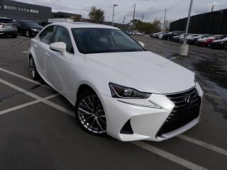 2017 Lexus IS 300 AWD PEARL WHITE ROOF AND LEATHER GORGEOUS