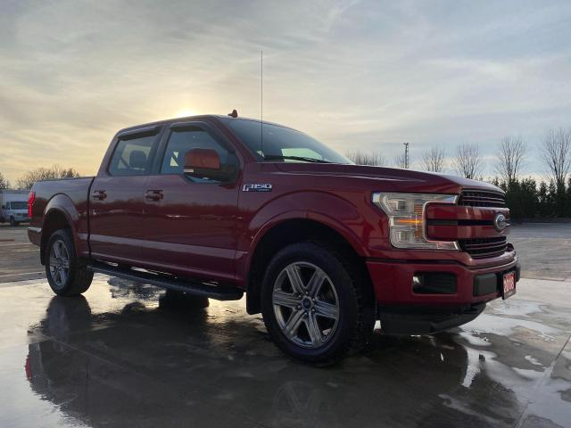 2018 Ford F-150 Lariat with heated front & rear seats