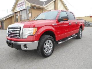 Used 2010 Ford F-150 XLT XTR 4X4 Crew Cab 5.5Ft Box Loaded Certified for sale in Rexdale, ON