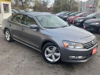 Used 2012 Volkswagen Passat 2.0 TDI DSG Comfortline/LOW KMS/LEATHER SEATS/NAVI for sale in Scarborough, ON