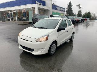 Used 2015 Mitsubishi Mirage ES for sale in Duncan, BC