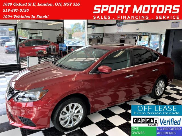 2017 Nissan Sentra SV+Camera+Heated Seats+Push Start+ACCIDENT FREE