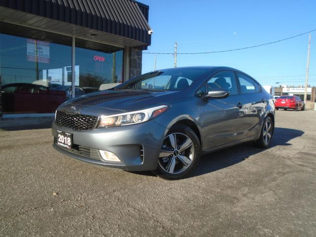 2018 Kia Forte AUTO LOW KM NO ACCIDENT B-TOOTH SAFETY ALLOY