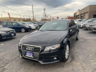 Used 2012 Audi A4 2.0T for sale in Hamilton, ON