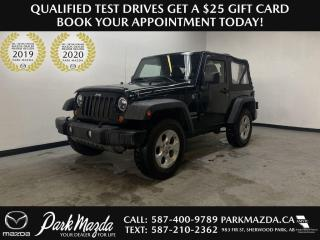 Used 2012 Jeep Wrangler SPORT for sale in Sherwood Park, AB