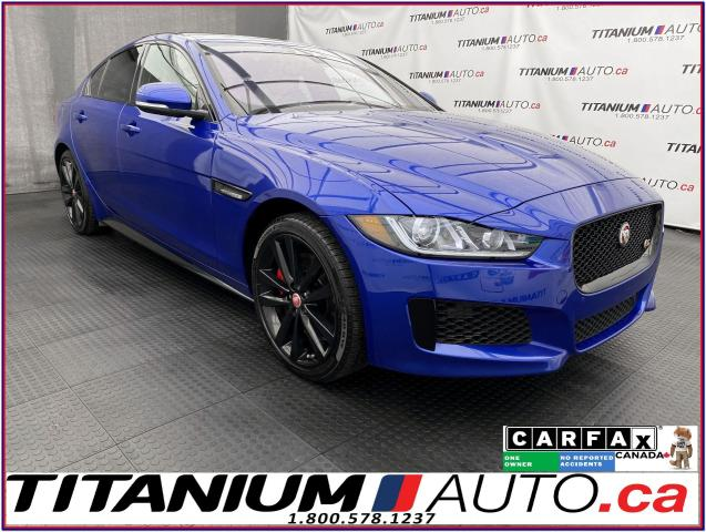 "2018 Jaguar XE S SuperCharged+380HP+10"" Touch Pro Duo+AWD+LDW+BSM"