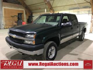 Used 2004 Chevrolet Silverado 2500 4D CREWCAB 4WD for sale in Calgary, AB
