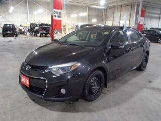 Used 2016 Toyota Corolla S MANUAL *** FRESHLY TRADED!!! *** for sale in Nepean, ON