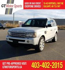 Used 2008 Land Rover Range Rover Sport SC    $0 DOWN - EVERYONE APPROVED! for sale in Calgary, AB