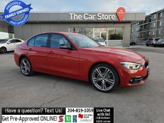 Used 2017 BMW 3 Series 330Xi H/K Sport Lin Navi Prem Enhanced BMW WARANTY for sale in Winnipeg, MB