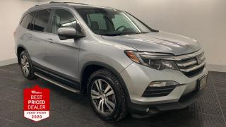 Used 2017 Honda Pilot AWD EX-L w-RES *DVD - HEATED LEATHER - LANEWATCH* for sale in Winnipeg, MB