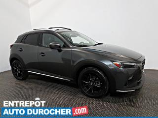 Used 2019 Mazda CX-3 GT AWD Automatique - A/C - Caméra de Recul - Cuir for sale in Laval, QC