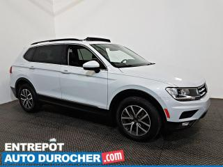 Used 2018 Volkswagen Tiguan Comfortline AWD Navigation - Toit Ouvrant - A/C for sale in Laval, QC