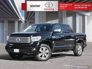 Used 2017 Toyota Tundra Platinum for sale in Whitby, ON