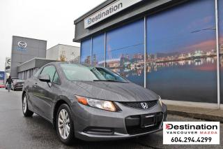 Used 2012 Honda Civic Cpe EX - Local, non smoker, great daily driver! for sale in Vancouver, BC