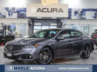 Used 2020 Acura TLX Tech A-Spec w/Red Leather for sale in Maple, ON