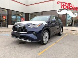 New 2021 Toyota Highlander HYBRID HYBRID LIMITED AWD Highlander Hybrid Platinum for sale in Mississauga, ON