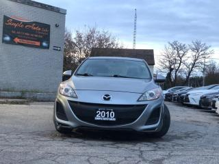 Used 2010 Mazda MAZDA3 4dr Sdn for sale in Barrie, ON