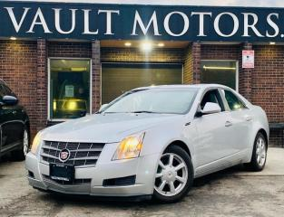 Used 2009 Cadillac CTS 4dr Sdn AWD ,LEATHER,NO ACCIDENTS,ONTARIO VEHICLE for sale in Brampton, ON