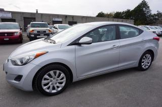 Used 2013 Hyundai Elantra GL 6SPD CERTIFIED 2YR WARRANTY *1 OWNER*FREE ACCIDENT* BLUETOOTH HEATED SEATS AUX for sale in Milton, ON