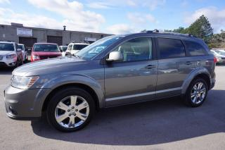 Used 2012 Dodge Journey CREW V6 CAMERA CERTIFIED 2YR WARRANTY BLUETOOTH HEATED SEAT CHROME for sale in Milton, ON