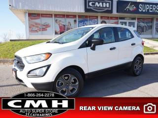 Used 2018 Ford EcoSport S FWD  CAM BT PWR-GROUP 16-AL for sale in St. Catharines, ON