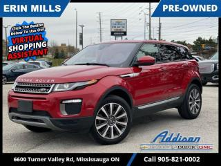 Used 2017 Land Rover Evoque HSE  MERIDIAN AUDIO|NAVI|PANO ROOF| for sale in Mississauga, ON