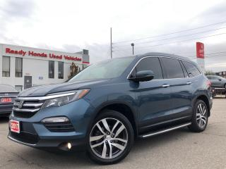 Used 2017 Honda Pilot Touring -  Navi - Leather - Sunroof - Pano Roof for sale in Mississauga, ON