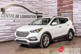 Used 2018 Hyundai Santa Fe Sport SPORT+AWD+CAM/RECUL+GR/ELECT+SIEGE/CHAUFF for sale in Laval, QC
