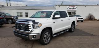 New 2020 Toyota Tundra 4X4 Crewmax Platinum 1794 EDITION for sale in Port Hawkesbury, NS
