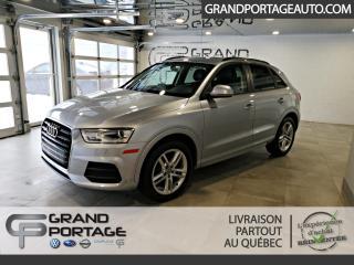Used 2016 Audi Q3 2.0T Komfort quattro 4 portes for sale in Rivière-Du-Loup, QC