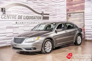 Used 2013 Chrysler 200 Touring+GR/RLRCT+SIEGE/CHAUFF+BLUETOOTH for sale in Laval, QC