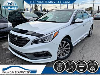 Used 2016 Hyundai Sonata SPORT TECH NAVIGATION, MAGS, TOIT PANO, for sale in Blainville, QC