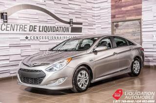 Used 2013 Hyundai Sonata Hybrid AIR+BLUETOOTH+SIEGE/CHAUFF for sale in Laval, QC
