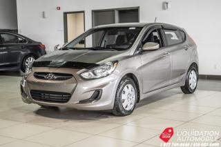 Used 2014 Hyundai Accent GL+SIEGE/CHAUFF+BLUETOOTH+GR/ELECT for sale in Laval, QC