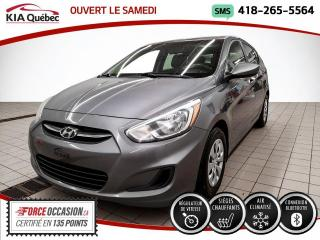 Used 2015 Hyundai Accent GL* 5 PORTES* A/C* SIEGES CHAUFFANTS* for sale in Québec, QC