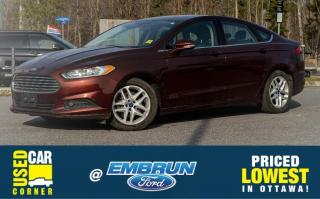 Used 2015 Ford Fusion SE for sale in Embrun, ON