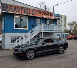 Used 2012 Ford Mustang Premium Convertible **Leather/Heated Seats** for sale in Barrie, ON