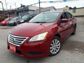 Used 2013 Nissan Sentra CERTIFIED for sale in Oshawa, ON