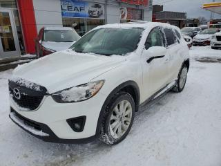 Used 2014 Mazda CX-5 GT *** CUIR + CAMREA DE RECUL + TOIT OUVRANT ** for sale in Val-d'Or, QC