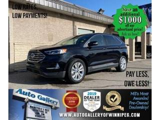 Used 2020 Ford Edge Titanium* Awd/Htd lthr/Navi/Pano for sale in Winnipeg, MB
