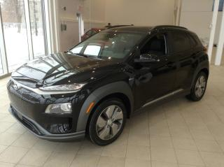 Used 2021 Hyundai KONA Electric EV ultimate cuir toit nav for sale in Longueuil, QC