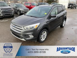 Used 2017 Ford Escape 1.5L Ecoboost • One Owner • Sync Connect • SE Convenience Pack • Backup Cam for sale in Calgary, AB