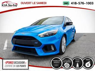 Used 2018 Ford Focus * RS* TURBO* AWD* MANUELLE* GPS* VOLANT for sale in Québec, QC