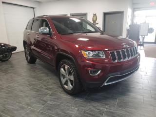Used 2016 Jeep Grand Cherokee 4WD 4dr Limited TOIT OUVRENT NAVAGATION for sale in Châteauguay, QC