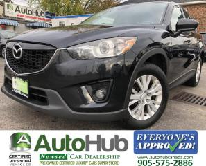 Used 2014 Mazda CX-5 GT-AWD-SUNROOF-LEATHER-BACKUP CAMERA-NAV for sale in Hamilton, ON